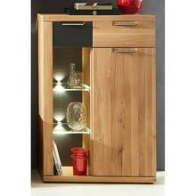 Highboard-vitrine incl. LED in wild eiken Bianco BOZEN-36...