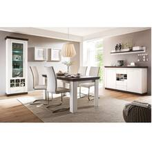 Cottage Dining Set SALARA-61 incl. Vitrine en dressoir in...