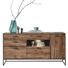 Industrieel design dressoir in Haveleiche Cognac met...