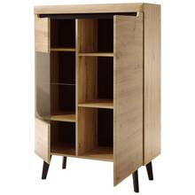 Woonkamer highboard incl. LED-verlichting TIROL-61 in...