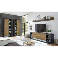Industrial Design wandset met dressoir TIRANA-61 in...