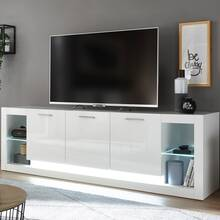 Modern design wandmeubel met dressoir MAILAND-61 in...